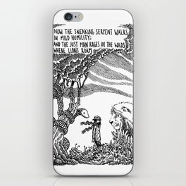 William Blake Illustration iPhone Skin
