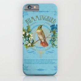 Magic Birds - Hummingbird iPhone Case