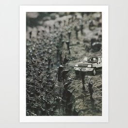 Arrival at the Colony Art Print