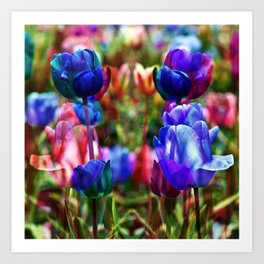 A Floral Dream of Spring Art Print