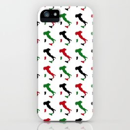 Italian Boot Pattern iPhone Case