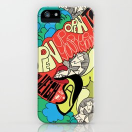 Animal Collective iPhone Case