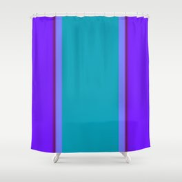 Re-Created ONE No. 34 by Robert S. Lee Shower Curtain