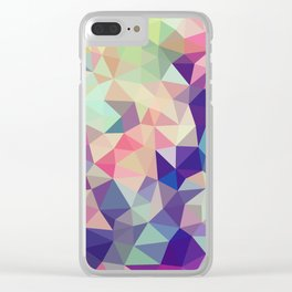 Jelly Bean Tris Clear iPhone Case