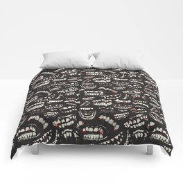 Monster Mouths Comforters
