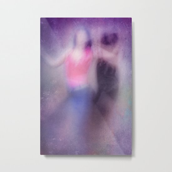 SECRET DANCERS Metal Print