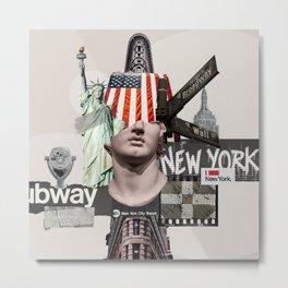 Nw York City 2 Metal Print
