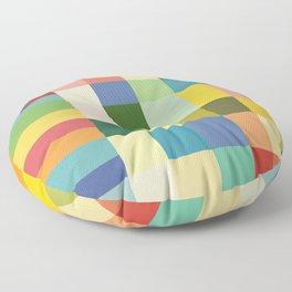 Soft Color Gradient Floor Pillow