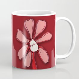 """Red"" Color Chakra Flowerkid Coffee Mug"