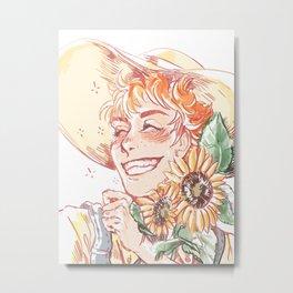 Hinata my sun-child Metal Print