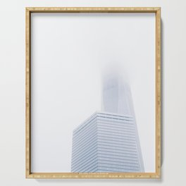 Cloaked / Freedom Tower Serving Tray