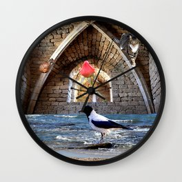 Guardians of the Rose Wall Clock