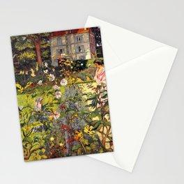 Edouard Vuillard - Garden Of Vaucresson - Digital Remastered Edition Stationery Cards
