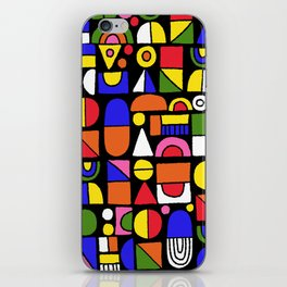 Building blocks 001 iPhone Skin