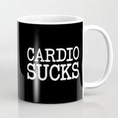 Cardio Sucks Gym Quote Mug