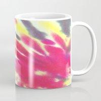tie dye Mugs featuring Tie Dye by vidixoxo