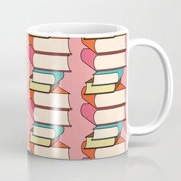 Library Neck Gator Stacks of Books Coffee Mug