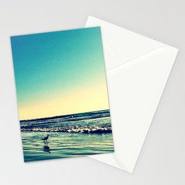 Bird on the water. Stationery Cards