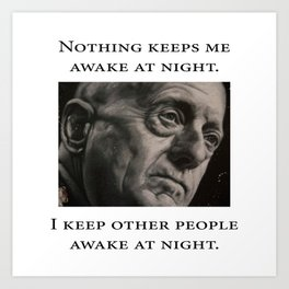 Mattis - Nothing Keeps Me Awake Art Print