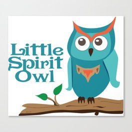 Spirit Owl Canvas Print