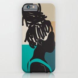 Locs iPhone Case