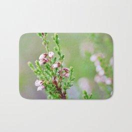 Heather flower Bath Mat