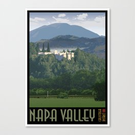 Napa Valley - Sterling Vineyards, Calistoga District Canvas Print