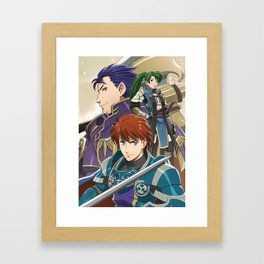 Blazing Fates Framed Art Print