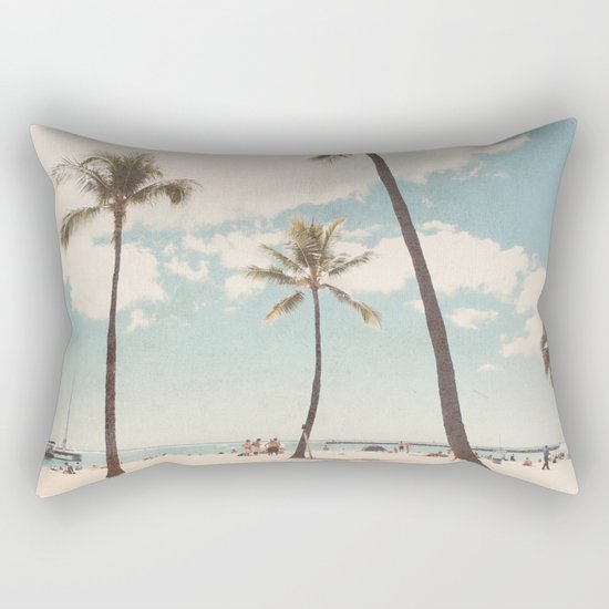 Waikiki Rectangular Pillow