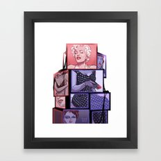 MEDIA Framed Art Print