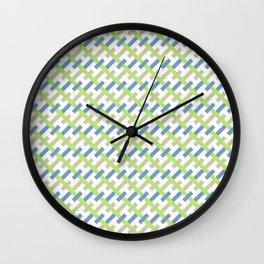 Abstract pattern 5 Wall Clock
