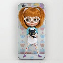 Erregiro Blythe Custom Doll Carmencita & Sócrates iPhone Skin