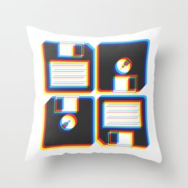 Outdated As Fuck Throw Pillow