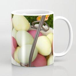 Easter Eggs in Basket - Cafe or Restaurant Decor Coffee Mug