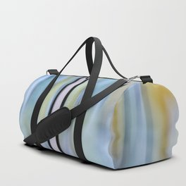 Buttery Lines (Abstract Blue) Duffle Bag