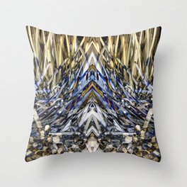 Warm Lights In Dark Places. Throw Pillow