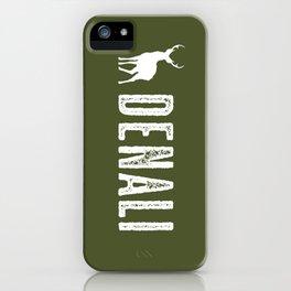 Denali NP, Alaska Deer iPhone Case
