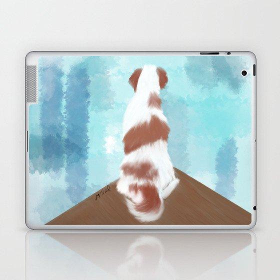 Deschutes The Brittany Spaniel Laptop & iPad Skin