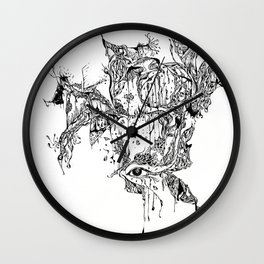 Hallucination Wall Clock