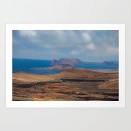 Canary Island Art Print