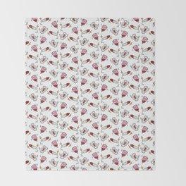 Girl Gang Print Throw Blanket