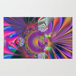 Colourful Fractal Chaos Rug