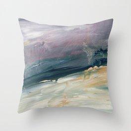 Deep Wave Throw Pillow