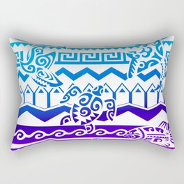 Maori Colors Rectangular Pillow