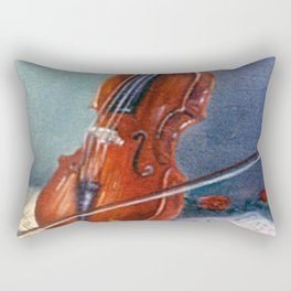 Violín/Violin Rectangular Pillow
