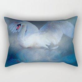 Swan Song & Dance Rectangular Pillow