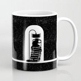 CAT READING SHAKESPEARE Coffee Mug
