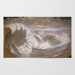 """Rogue Waves"" Rug"