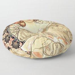 Art Nouveau Floor Pillow