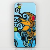 koi fish iPhone & iPod Skins featuring Koi Fish by Diana Dypvik